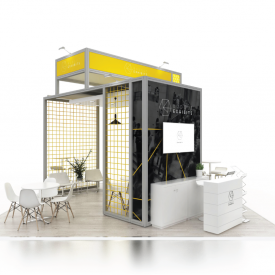 6 x 6 exhibition stands